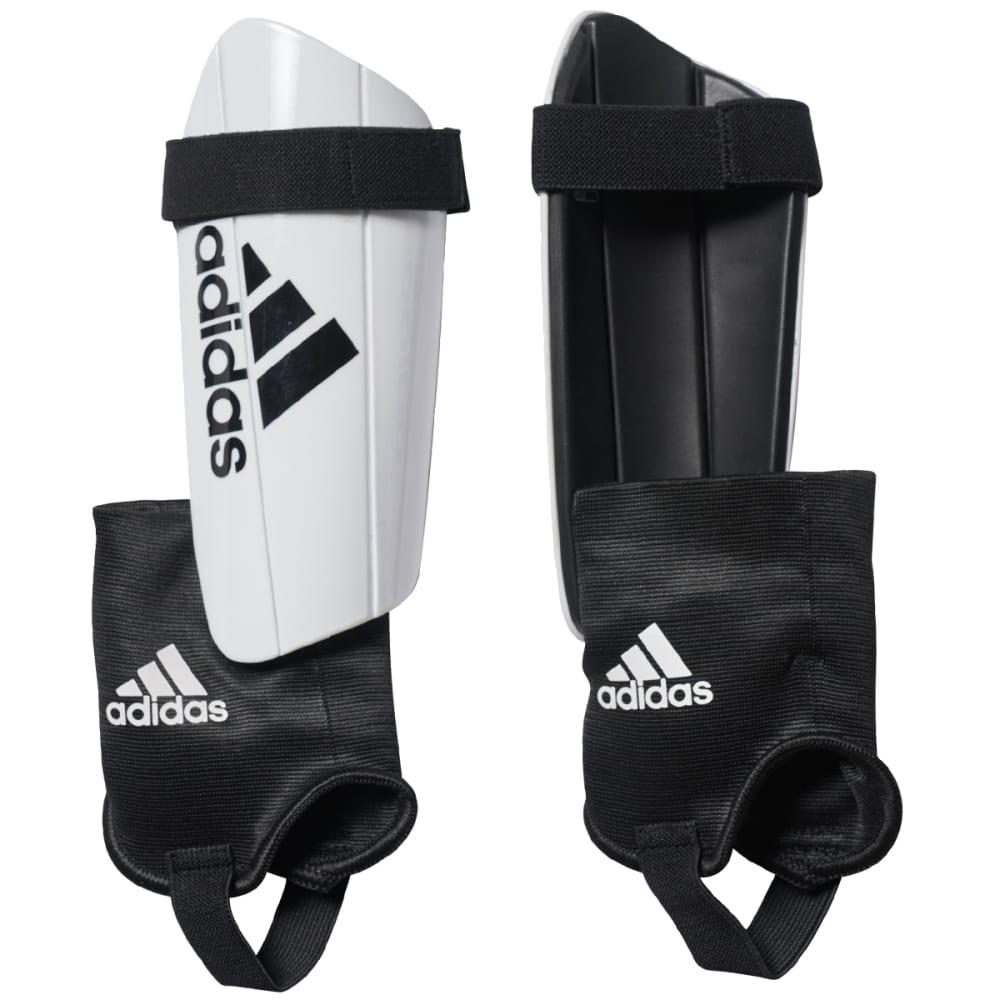ADIDAS Ghost Club Soccer Shin Guards - WHITE/BLACK