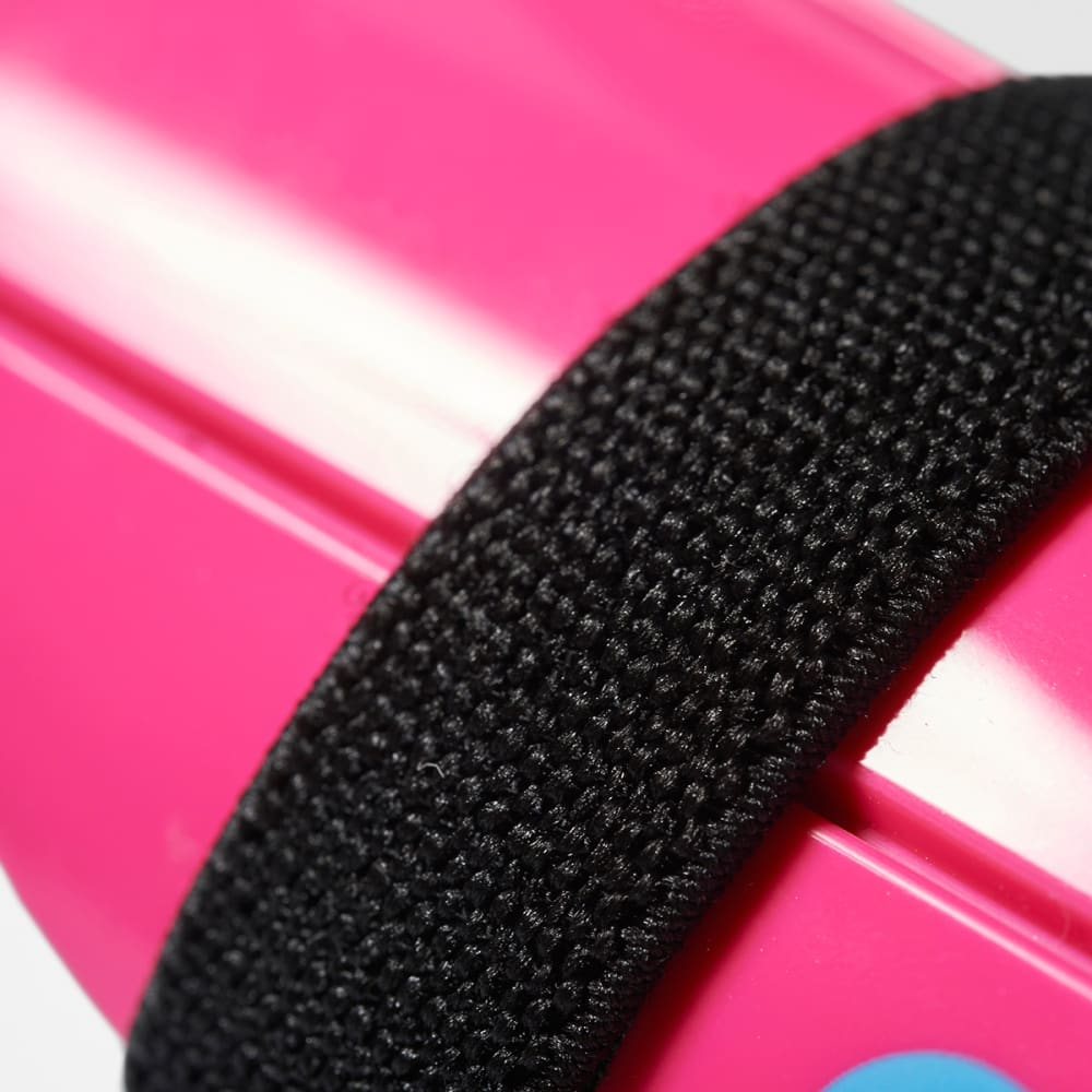 ADIDAS Youth Ghost Shin Guards - SHOCK PINK/BLACK