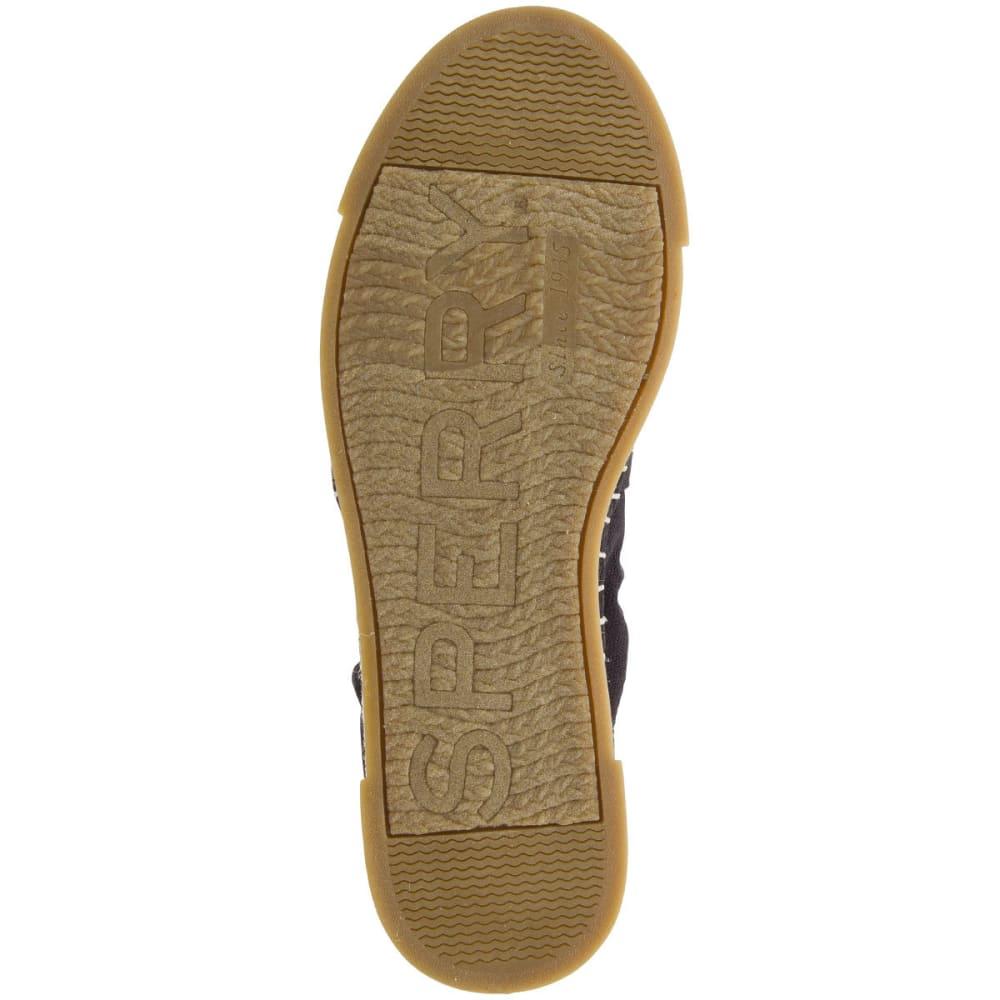 SPERRY Women's Laurel Reef Espadrille Shoes, Black - BLACK