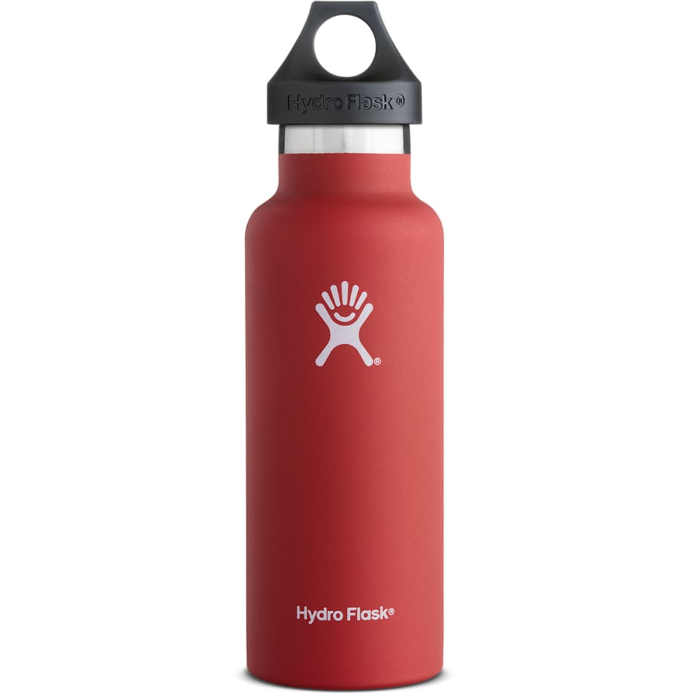 HYDRO FLASK 18 oz. Standard Bottle - LAVA