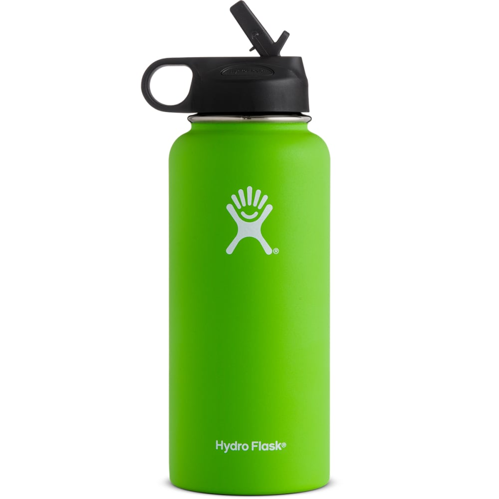 HYDRO FLASK 32 oz. Wide Mouth Bottle with Straw Lid - KIWI
