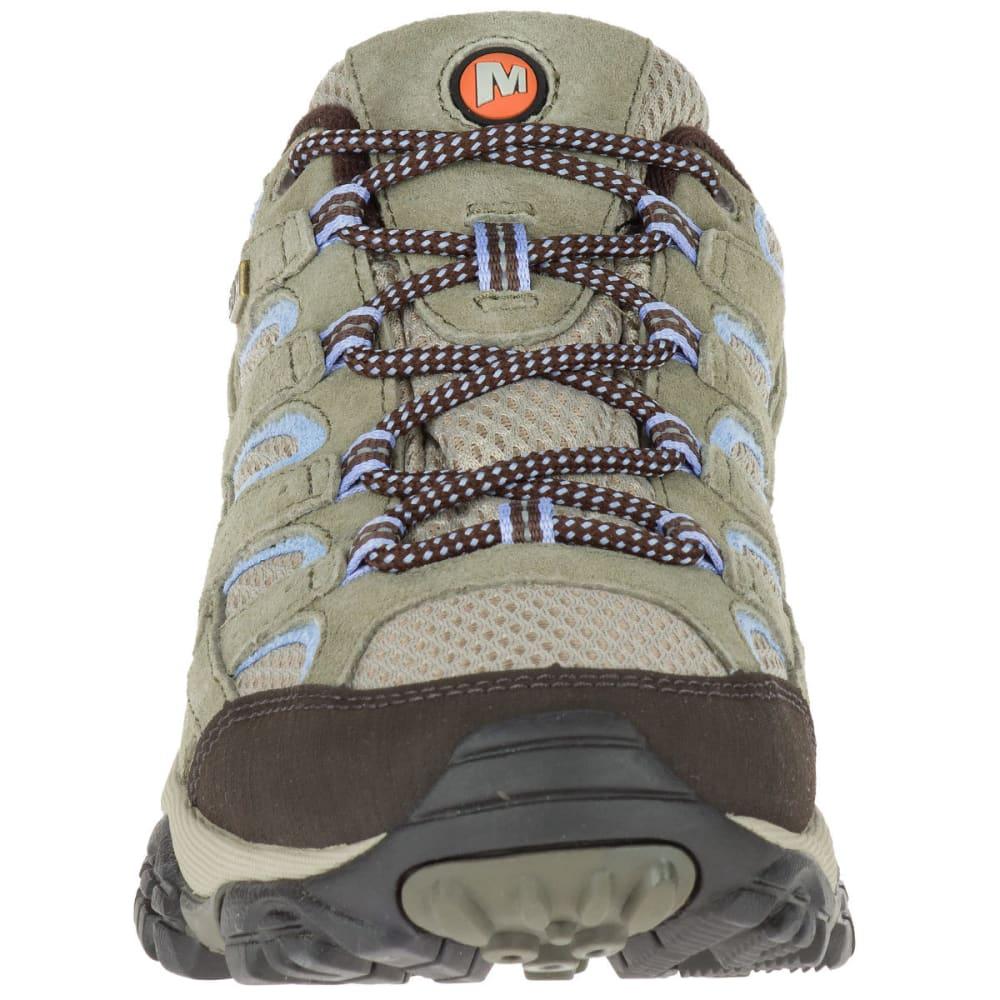 MERRELL Women's Moab 2 Low Waterproof Hiking Shoes, Dusty Olive - DUSTY OLIVE