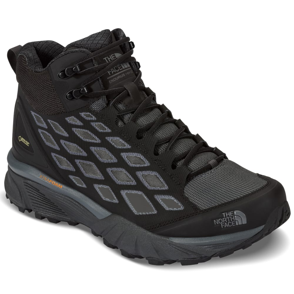 THE NORTH FACE Men's Endurus Hike Mid GTX Boots, TNF Black/Dark Shadow Grey - TNF BLACK/GREY