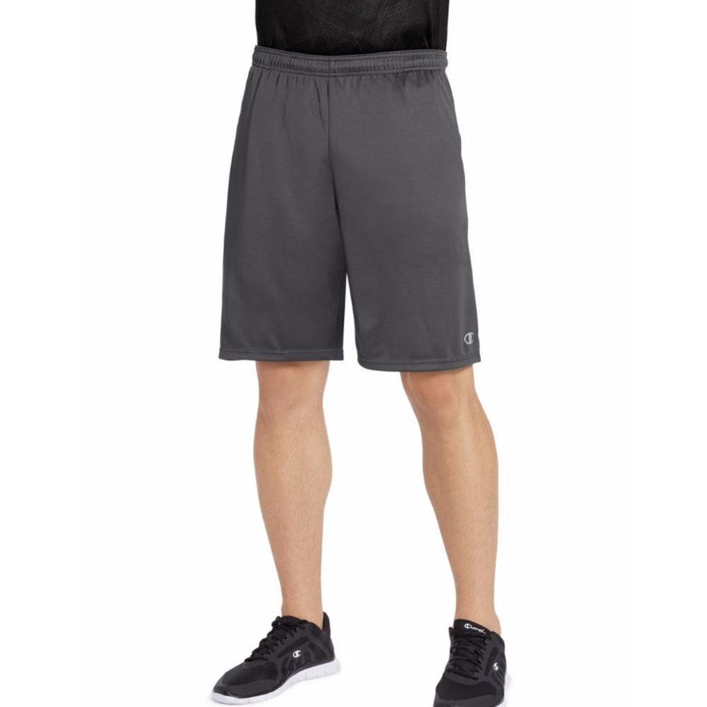 CHAMPION Men's Vapor Select Shorts - SHADOW GREY-ZMS