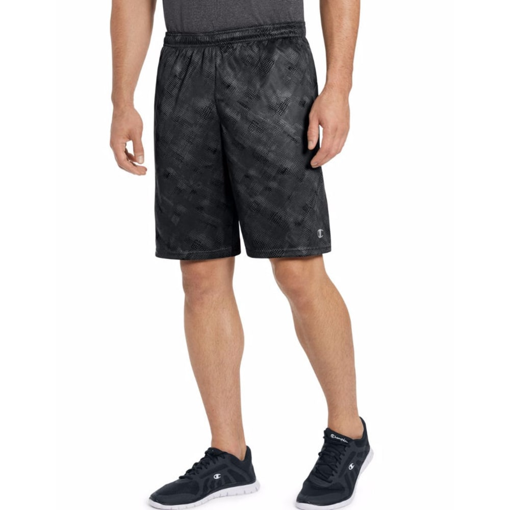CHAMPION Men's Vapor Select Print Shorts - CAMO/LIMO BLK-BPW