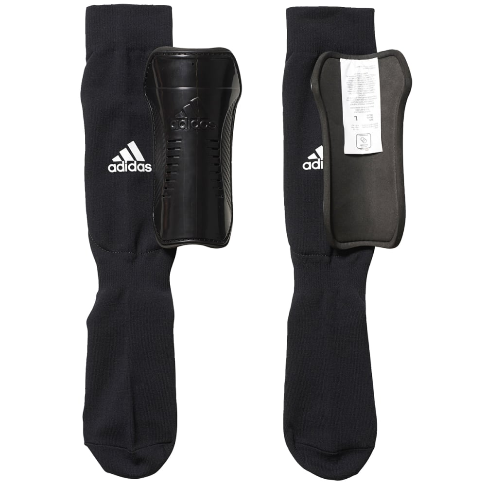 ADIDAS Youth Sock Shin Guard - BLACK/WHITE