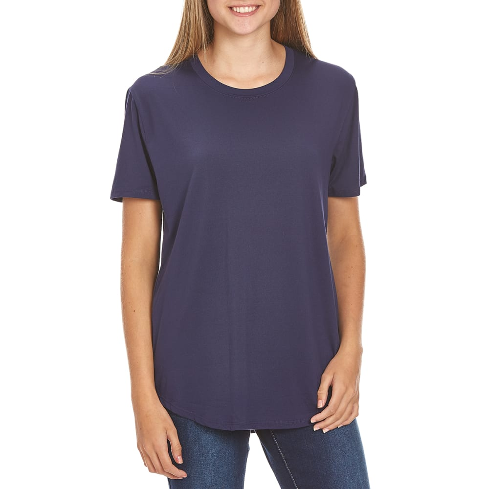 HYBRID Juniors' Yummy Boyfriend Tee - ECLIPSE