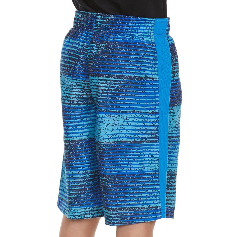 NIKE Boys' 9 in. Fade Swim Shorts - HYPER COBALT-425
