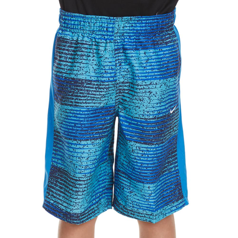 NIKE Boys' 9 in. Fade Swim Shorts - HYPER COBALT-425