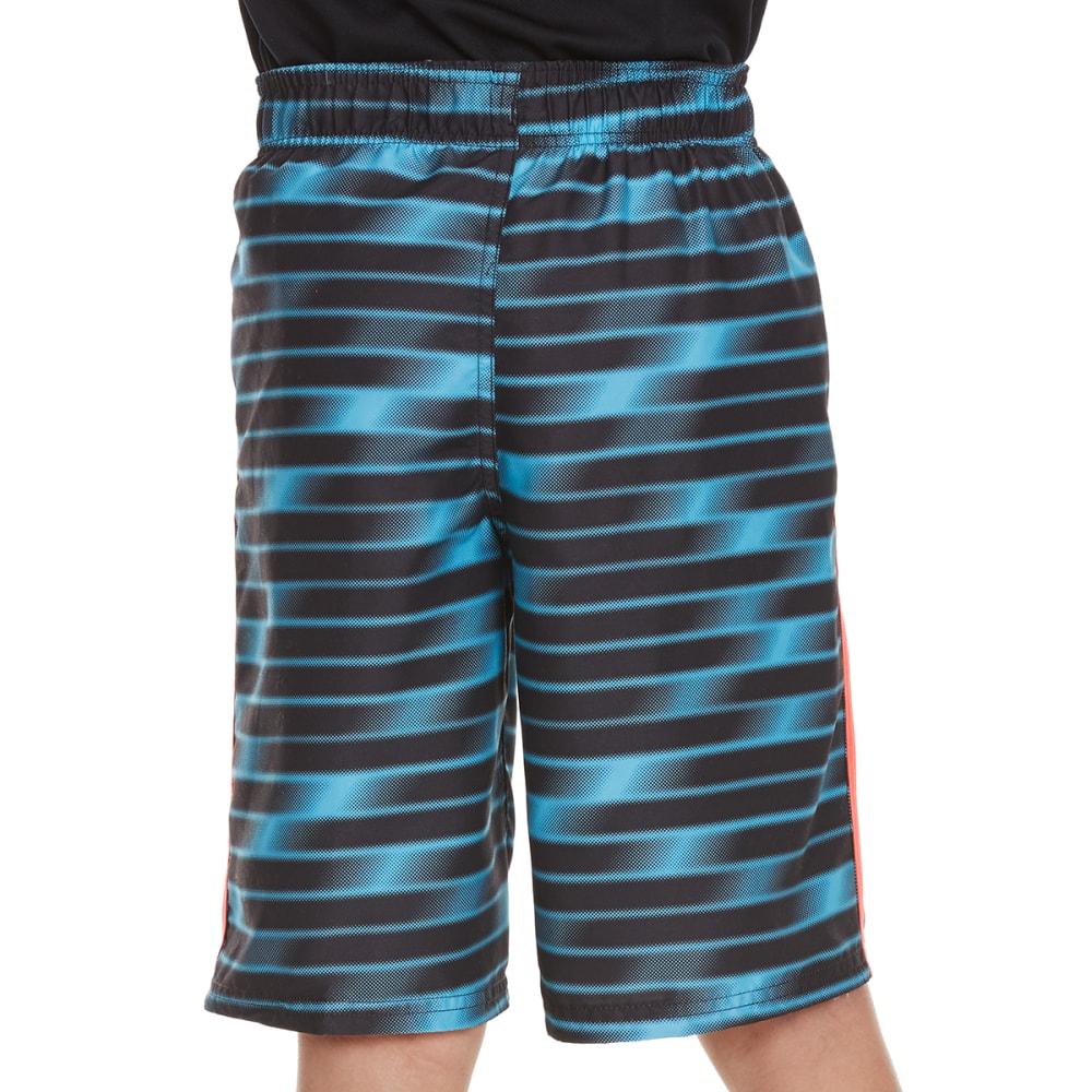 NIKE Boys' 9 in. Blurred Swim Shorts - CHLORINE BLUE-445