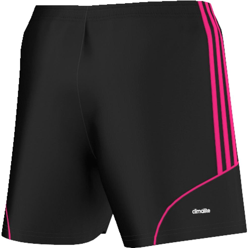 ADIDAS Women's Squadra 13 Soccer Shorts - BLACK/PINK-AY4309