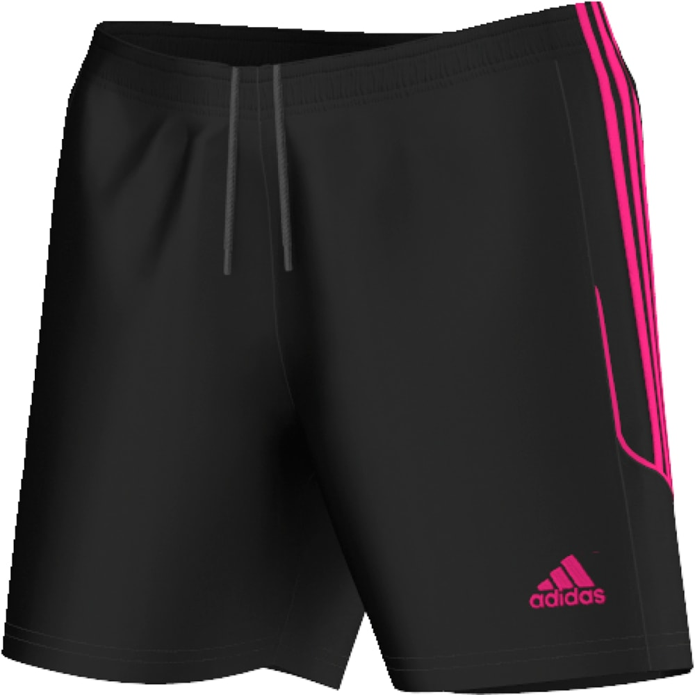 b45afc7f752 ADIDAS Women  39 s Squadra 13 Soccer Shorts - BLACK PINK-AY4309