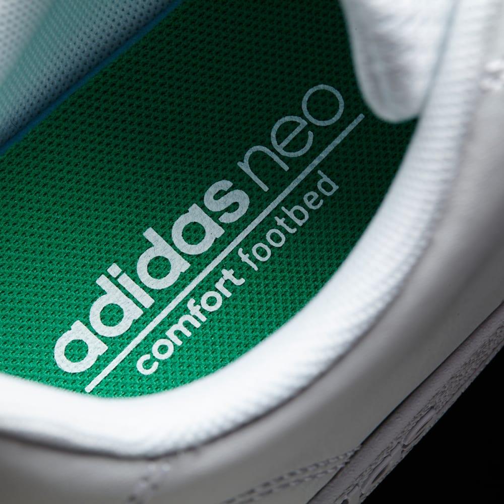 ADIDAS Boys' Neo VS Advantage Clean K Sneakers - WHITE