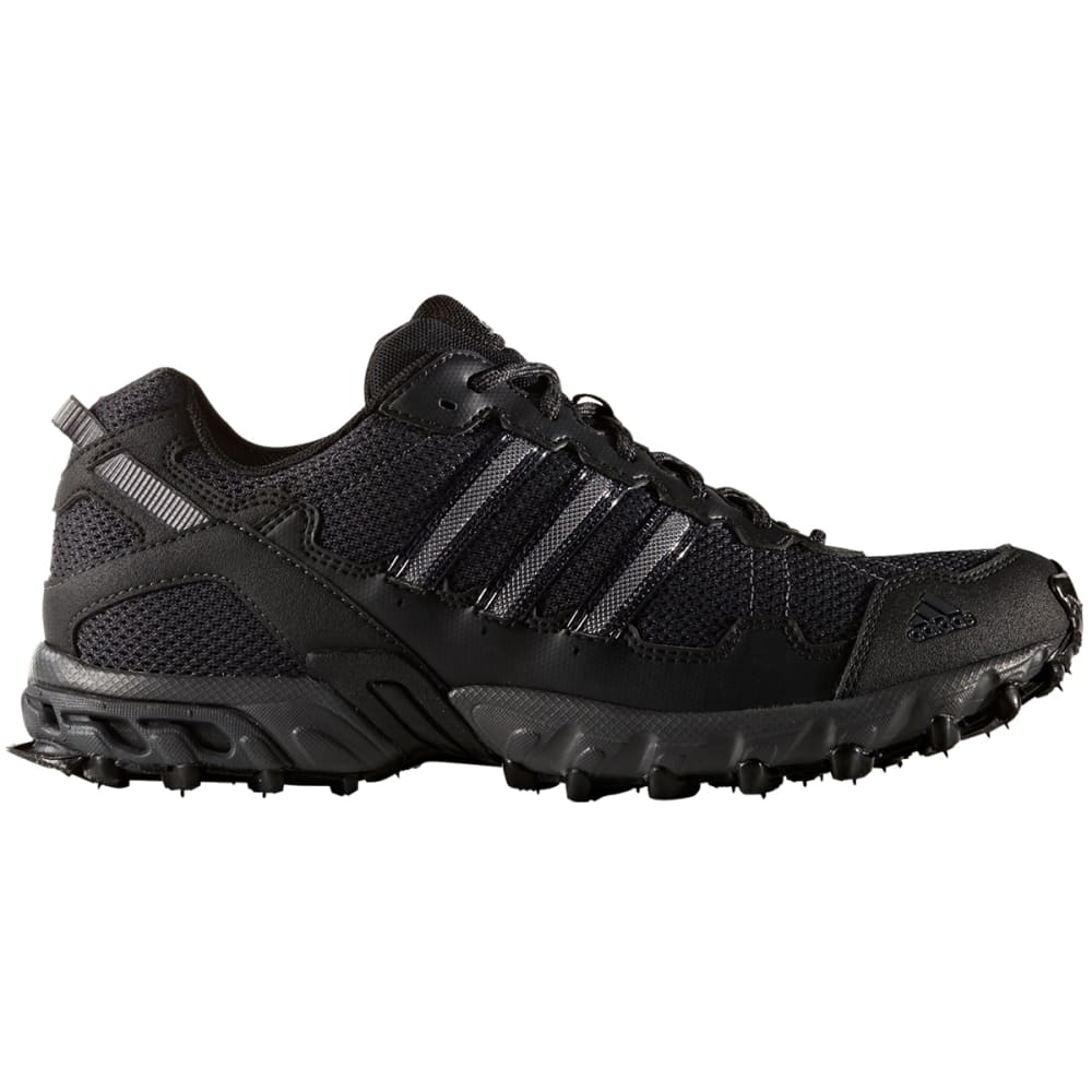 ADIDAS Men's Rockadia Trail Running Shoes - BLACK