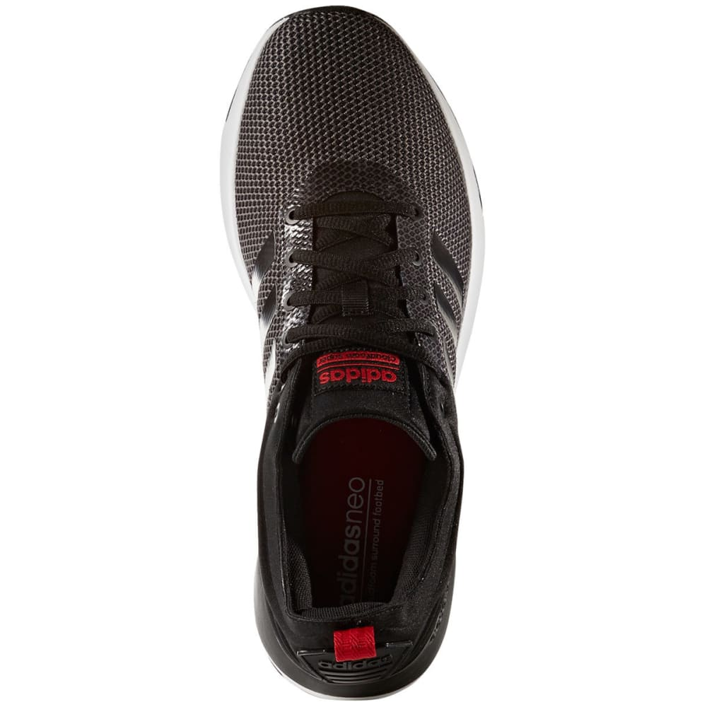 ADIDAS Men's Neo Cloudfoam Super Racer Shoes - GREY