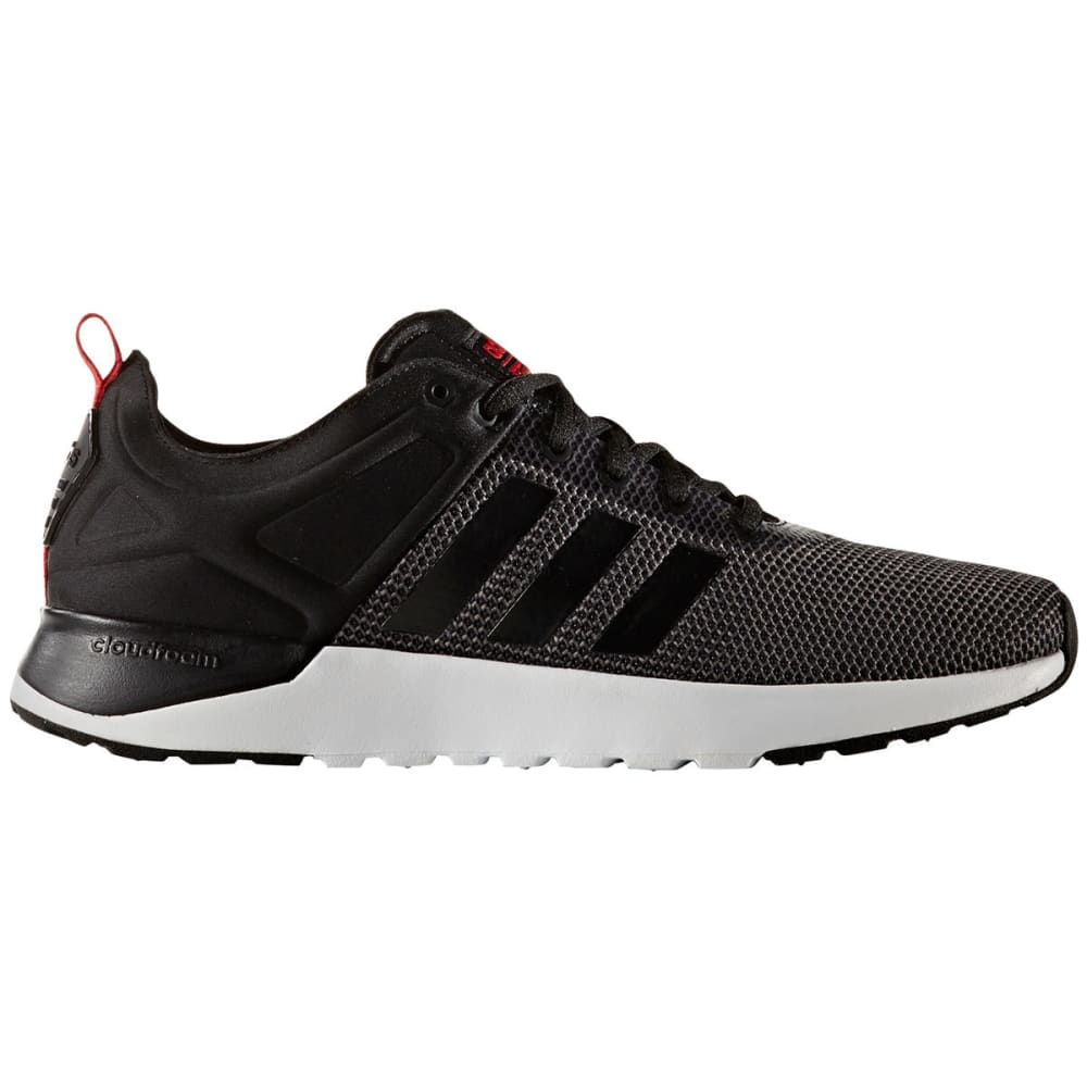 Adidas Men's Neo Cloudfoam Super Racer Shoes - Black, 9