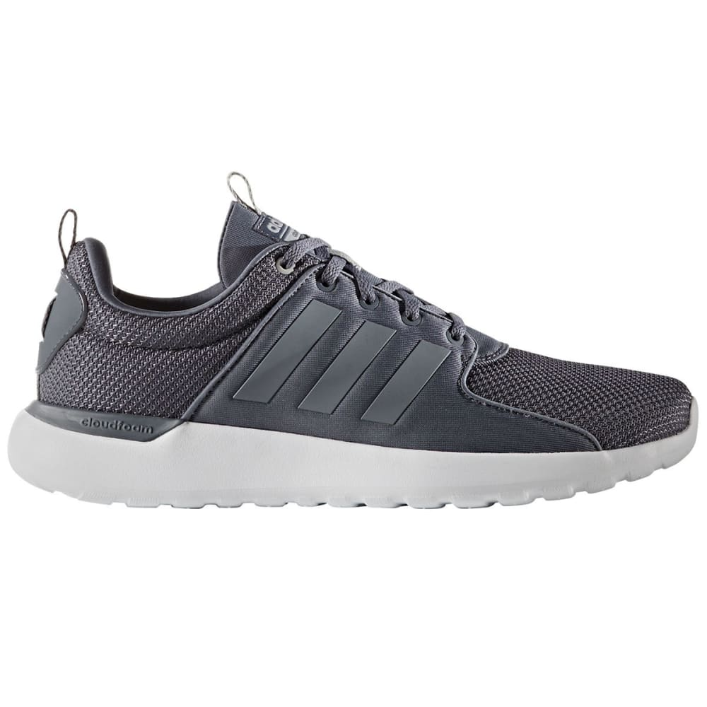 Adidas Men's Cloudfoam Lite Racer Shoes, Onix - Black, 8