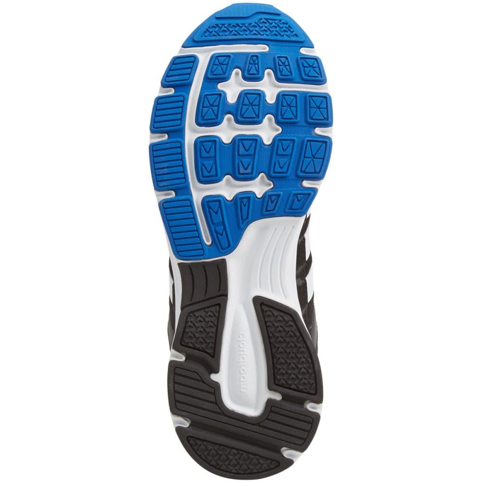 ADIDAS Men's Cloudfoam VS City Running Shoes, Black/Blue - BLACK