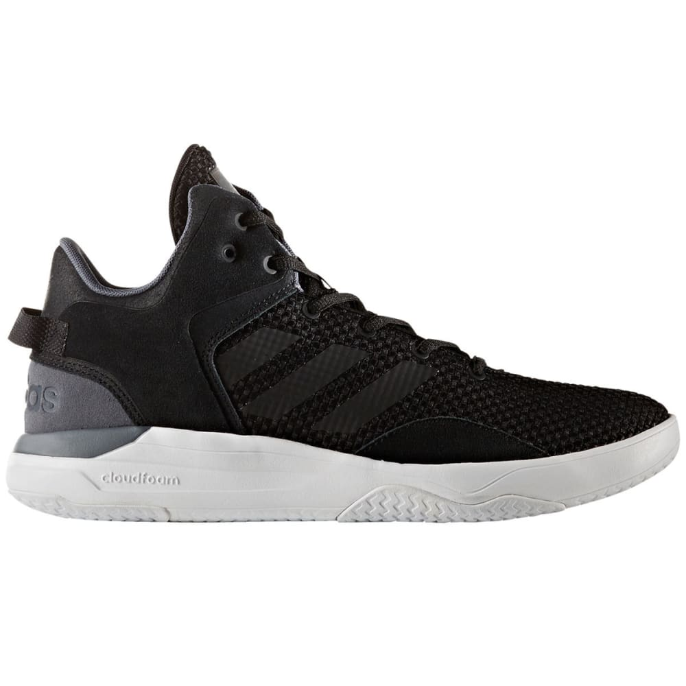 Adidas Men's Neo Cloudfoam Revival Sneakers - Black, 8