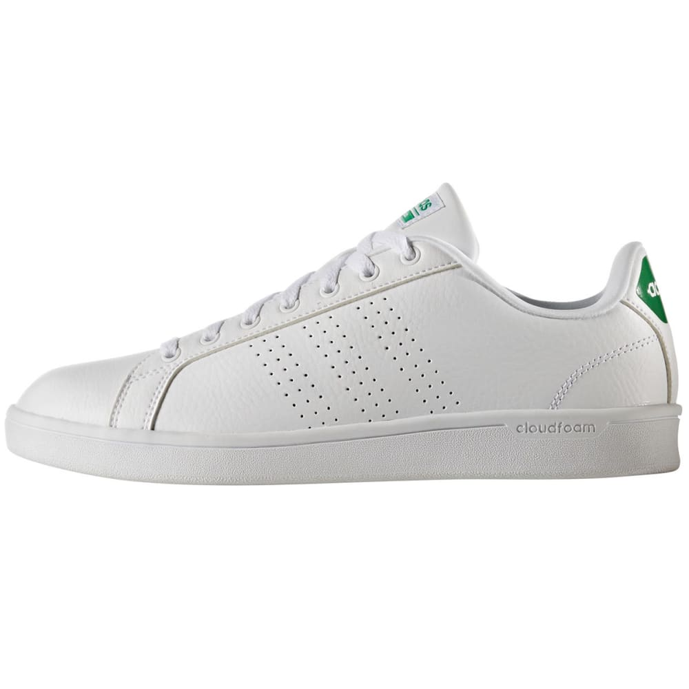 ADIDAS Men's Cloudfoam Advantage Clean Shoes - WHITE