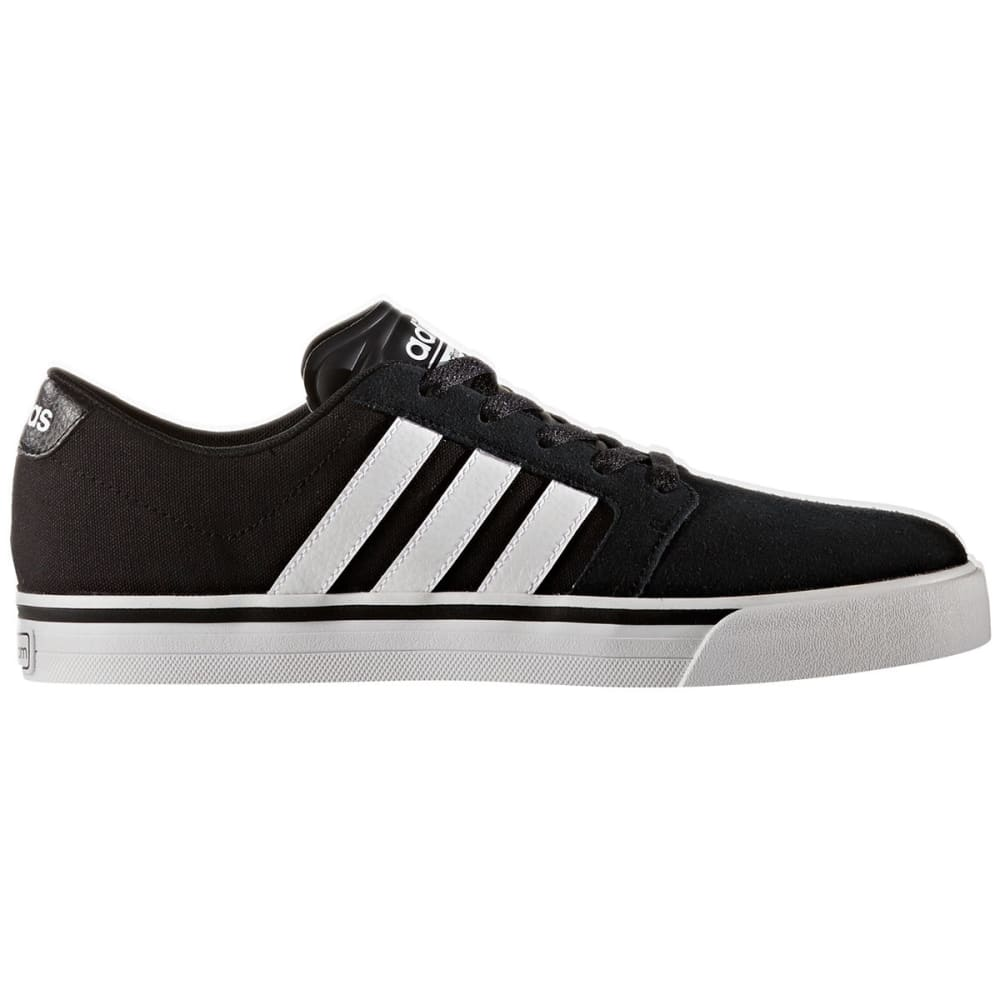 Adidas Men's Cloudfoam Super Skate Shoes - Black, 10