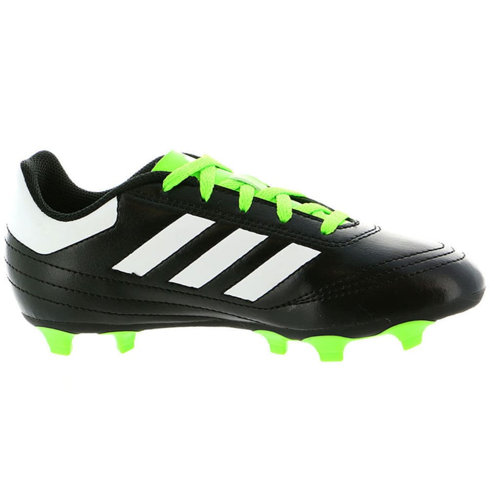 ADIDAS Boys' Goletto VI FG Soccer Cleats - BLACK