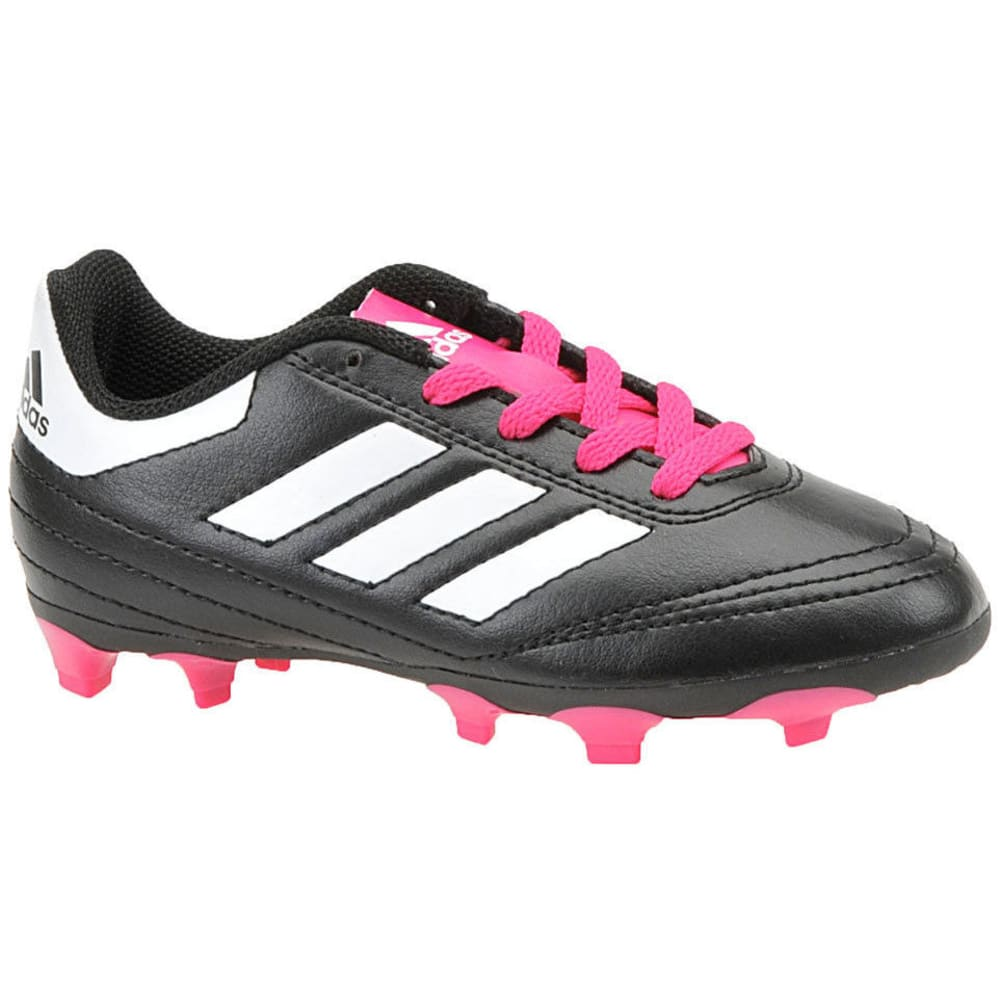 ADIDAS Girls' Goletto VI FG Soccer Cleats - BLACK
