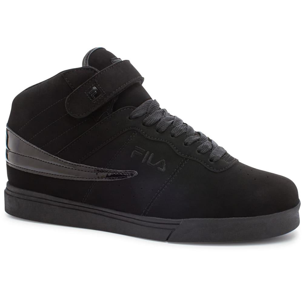Fila Men's Vulc 13 Sneakers - Black, 9.5