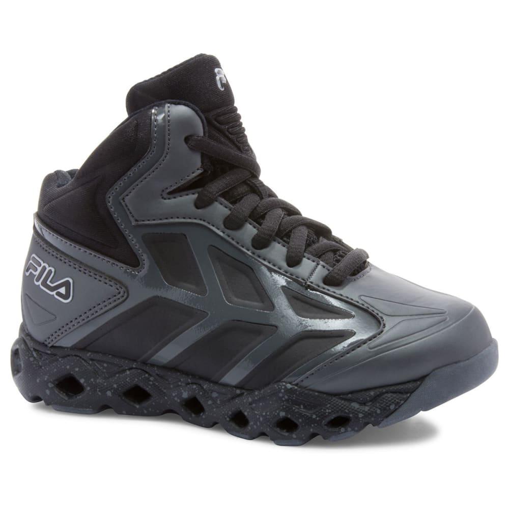 FILA Boys' Torranado Sneakers - CASTLEROCK/BLK/SILV