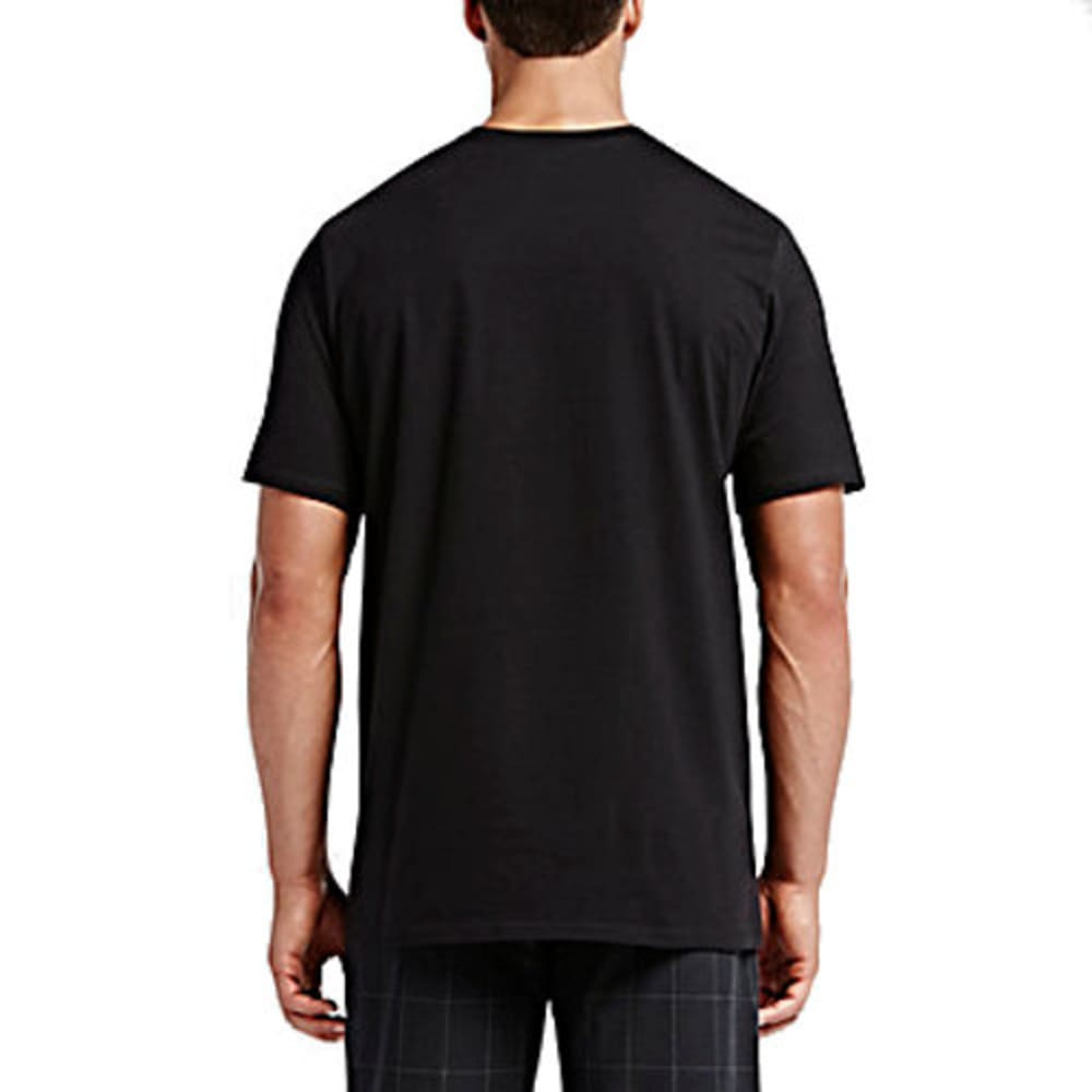 HURLEY Guys' Original Premium Short-Sleeve Tee - BLACK - OOAA