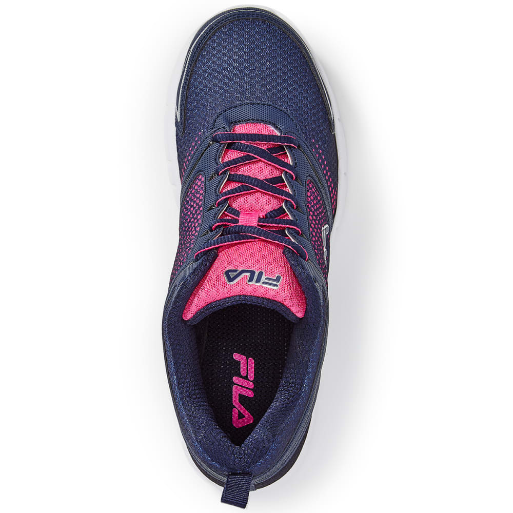 FILA Women's Windstar 2 Running Shoes - NAVY