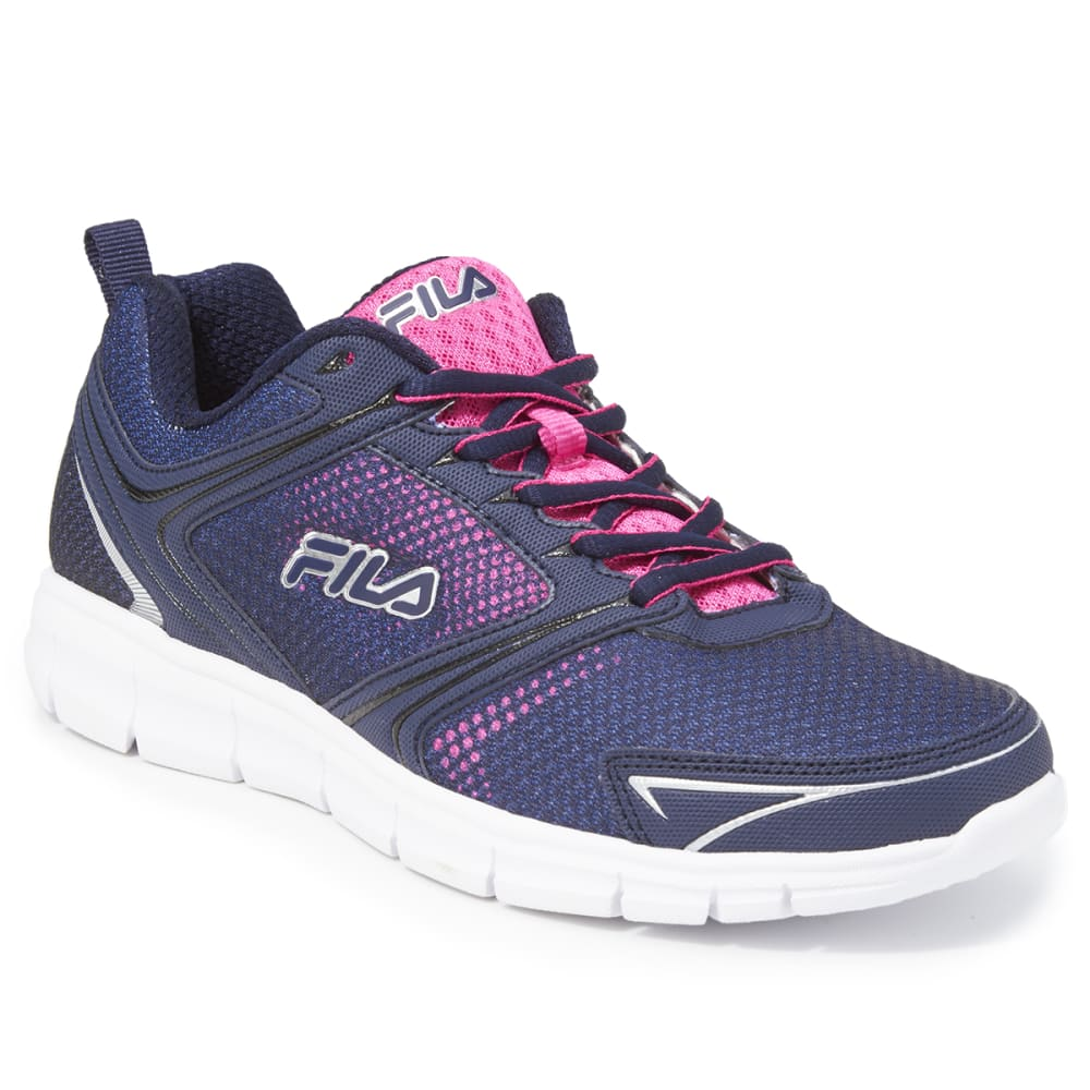 FILA Women's Windstar 2 Running Shoes - NAVY