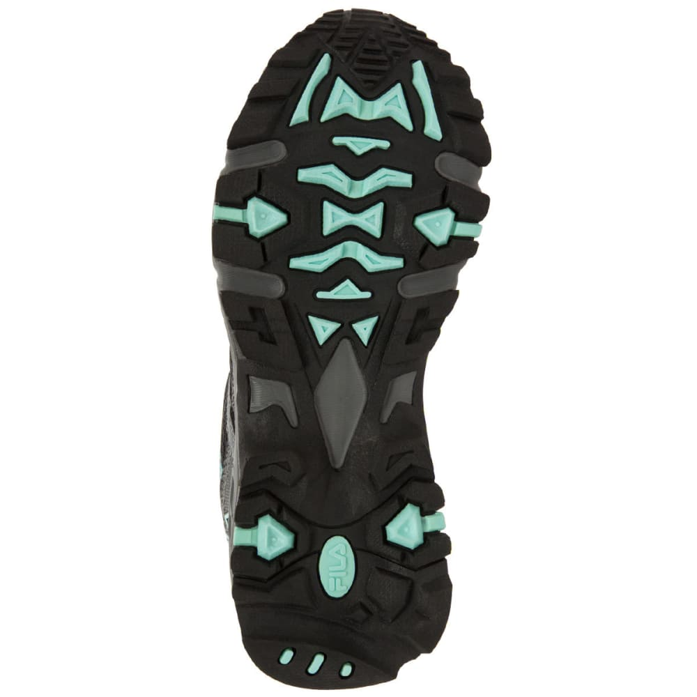 FILA Women's Ascent 12 Trail Running Shoes - CHARCOAL