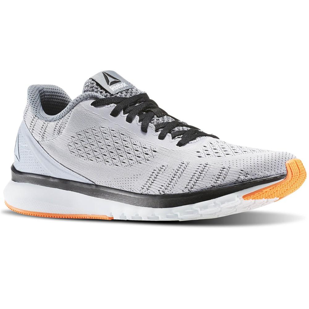 REEBOK Men's Print Smooth Ultraknit Running Shoes - GREY