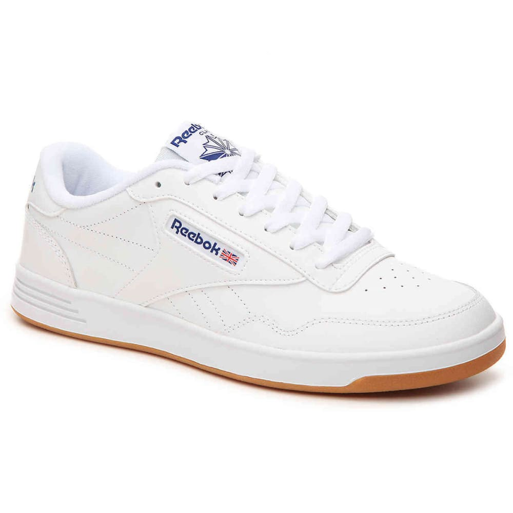 REEBOK Men's Club MemT Gum Sole Shoes - WHITE