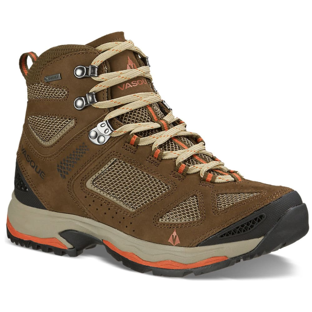 VASQUE Women's Breeze III GTX Hiking Boots, Slate Brown/Tandori 6