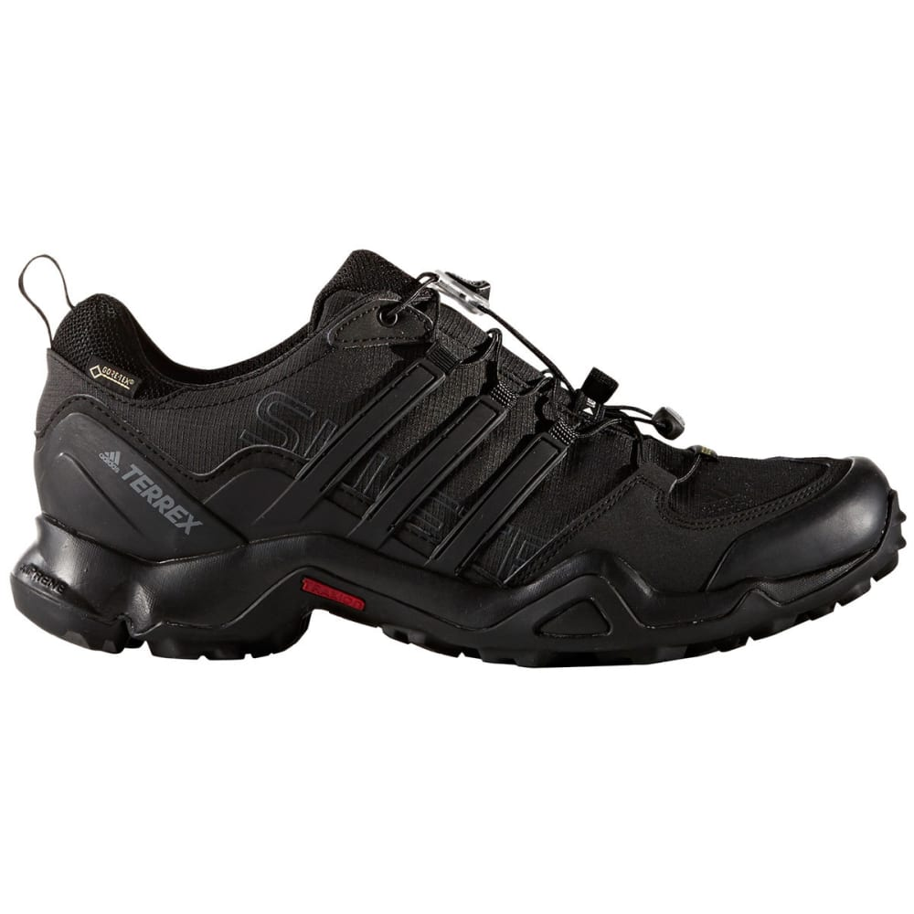 ADIDAS Men's Terrex Swift R GTX Hiking Shoes, Black - BLACK/BLACK/DK GREY