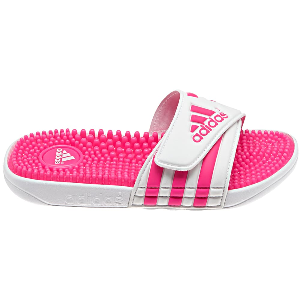 ADIDAS Girls' Adissage Slides - WHITE