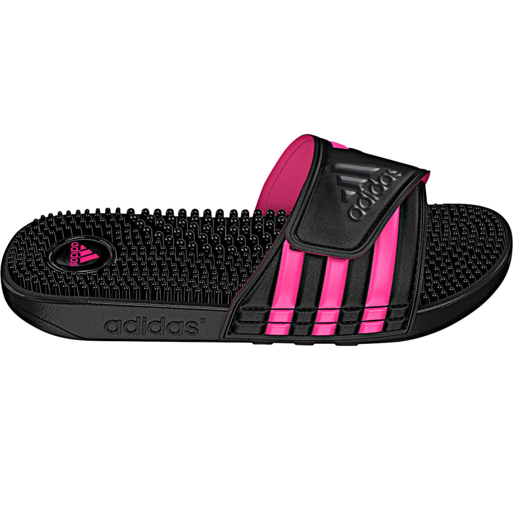 ADIDAS Women's Adissage Slides - BLACK