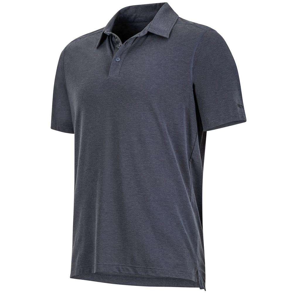 MARMOT Men's Wallace Short-Sleeve Polo Shirt - 8552-SLATE GREY HTHR