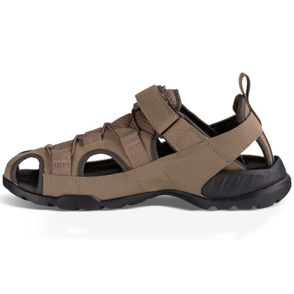 TEVA Men's Forebay 2 Closed Toe Sandals, Walnut - WALNUT