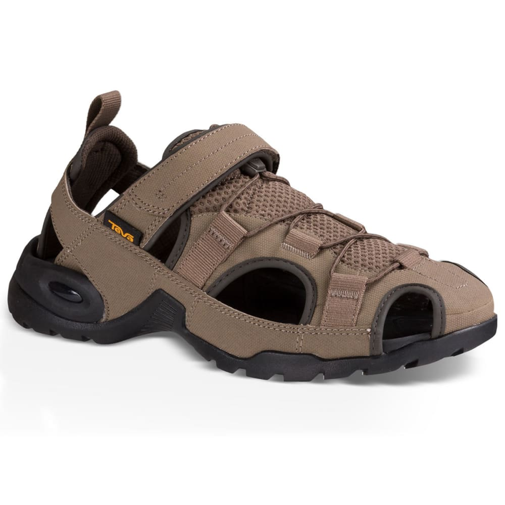 TEVA Men's Forebay 2 Closed Toe Sandals, Walnut - WALNUT