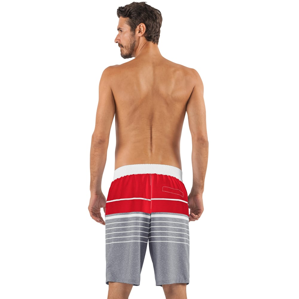 BOSTON RED SOX Men's Balance Swim Trunks - GREY-BRX
