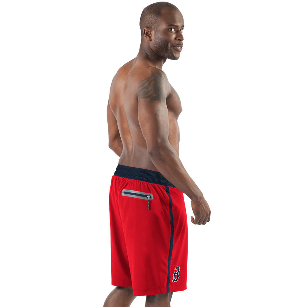 BOSTON RED SOX Men's Endurance Swim Trunks - RED-BRX