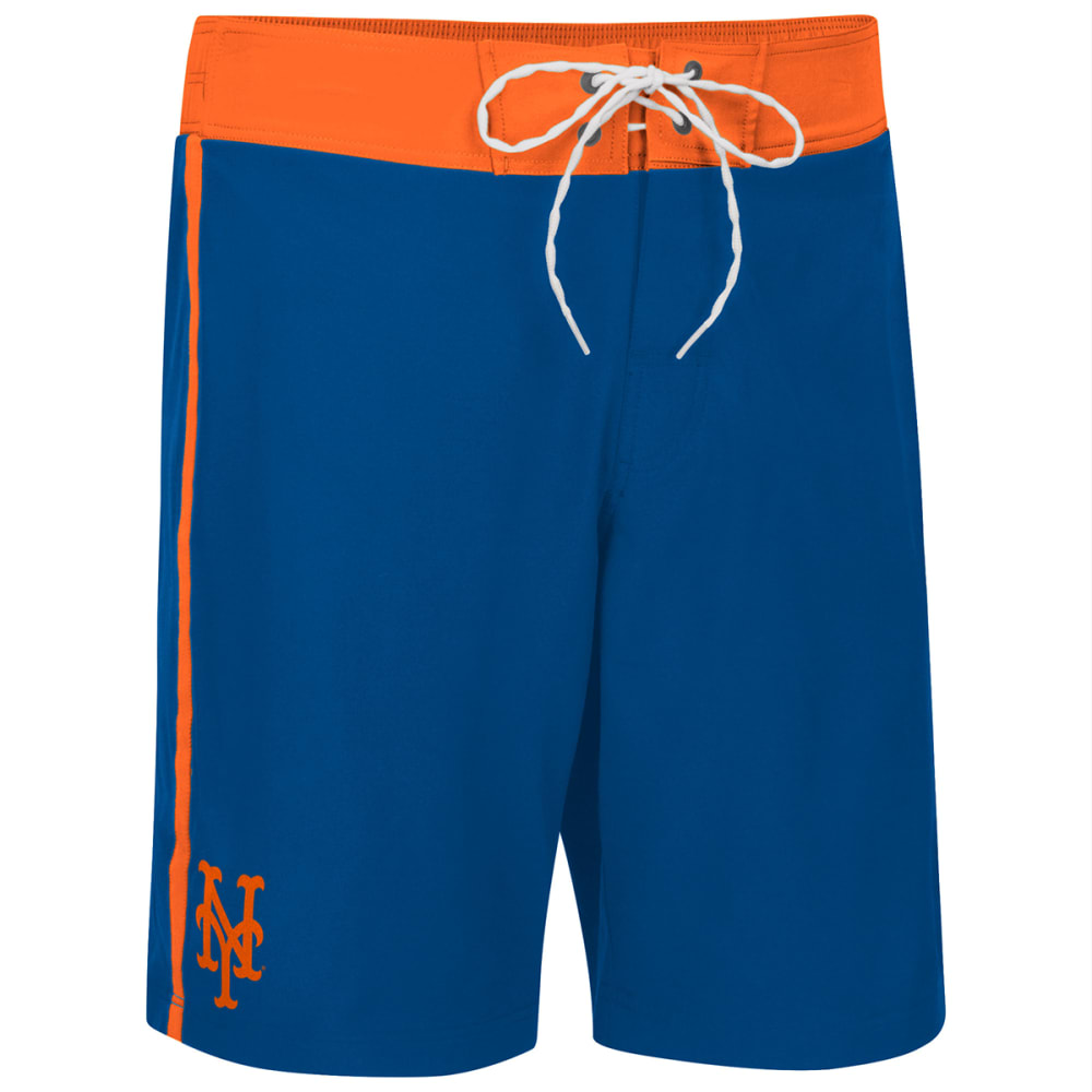NEW YORK METS Men's Endurance Swim Trunks - ROYAL BLUE-NYM