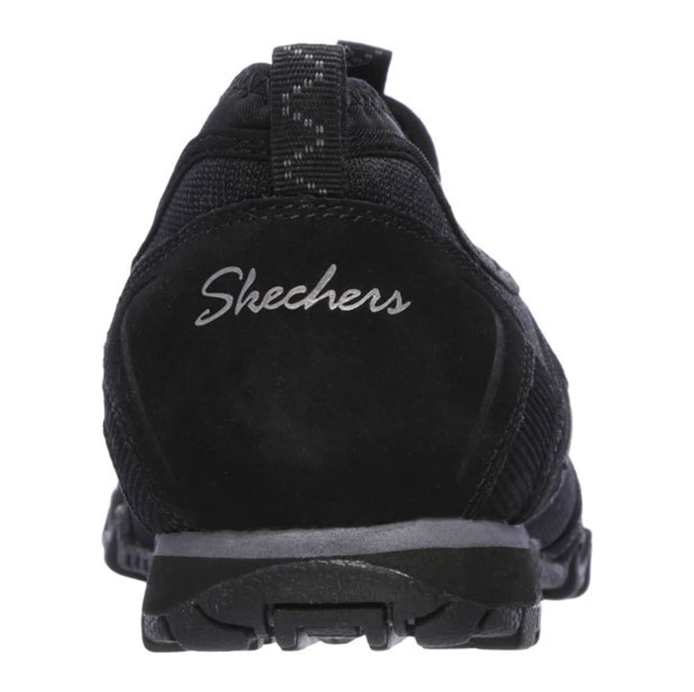 SKECHERS Women's Relaxed Fit: Bikers- Hermosa Shoes - BLACK