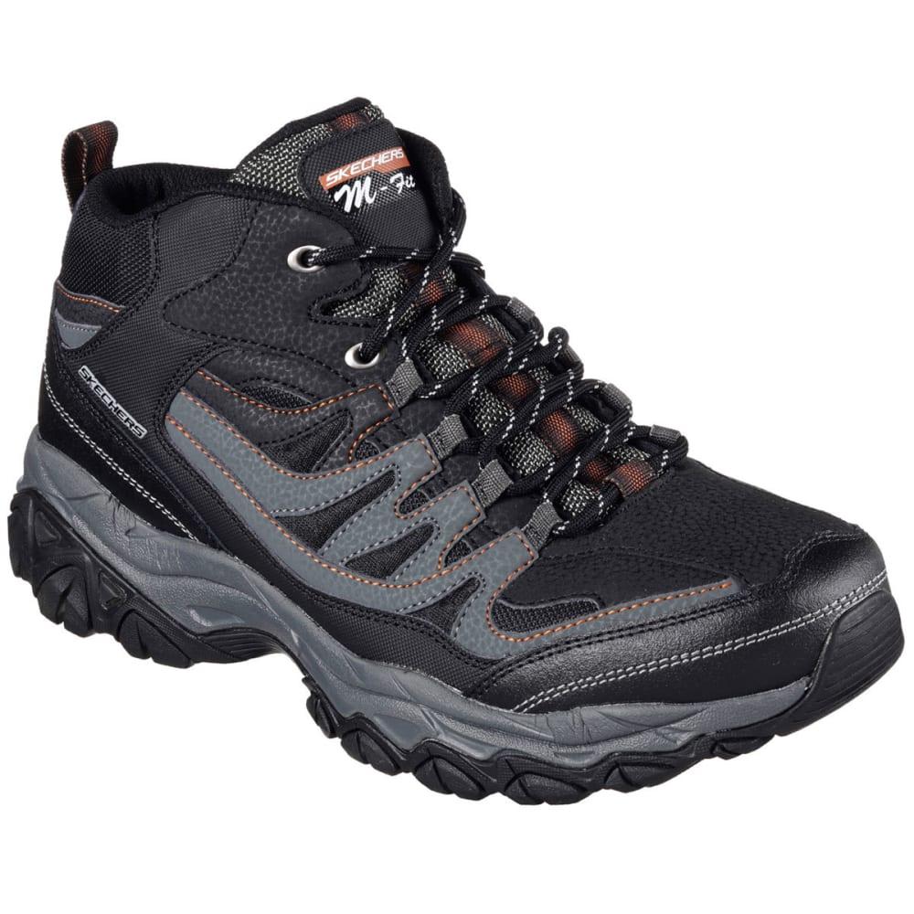 SKECHERS Men's After Burn Memory Fit Geardo Sneakers, Wide 11