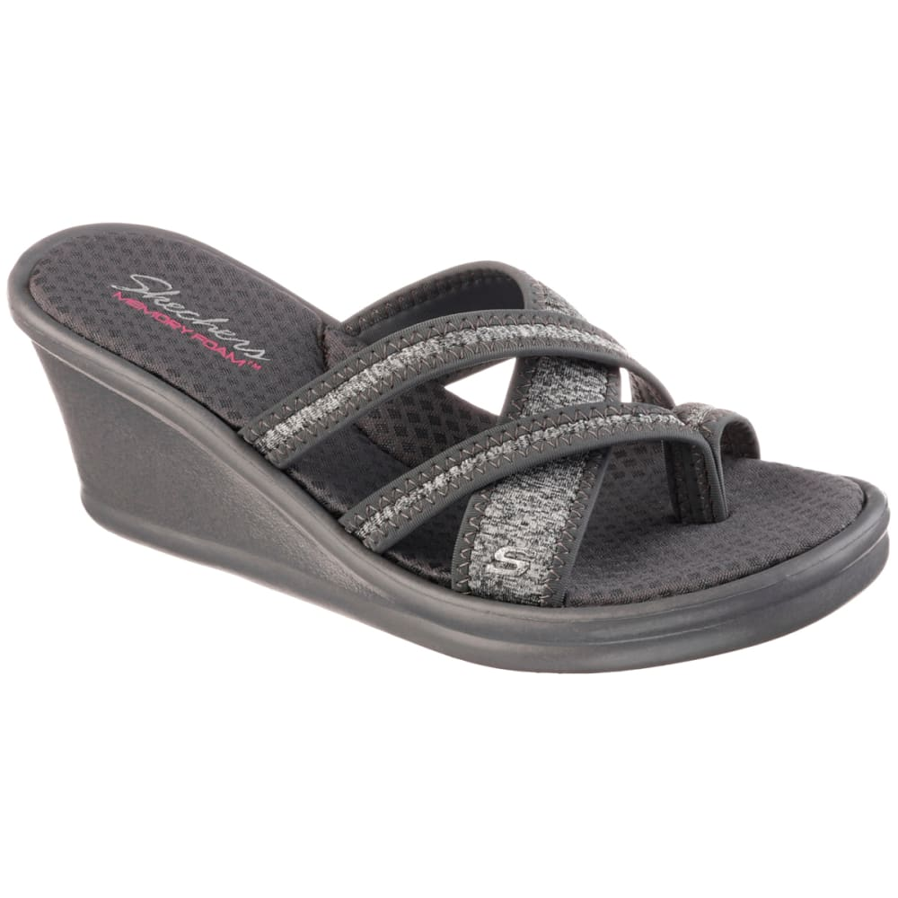SKECHERS Women's Rumblers - Pen Pal Sandals, Gray - GREY
