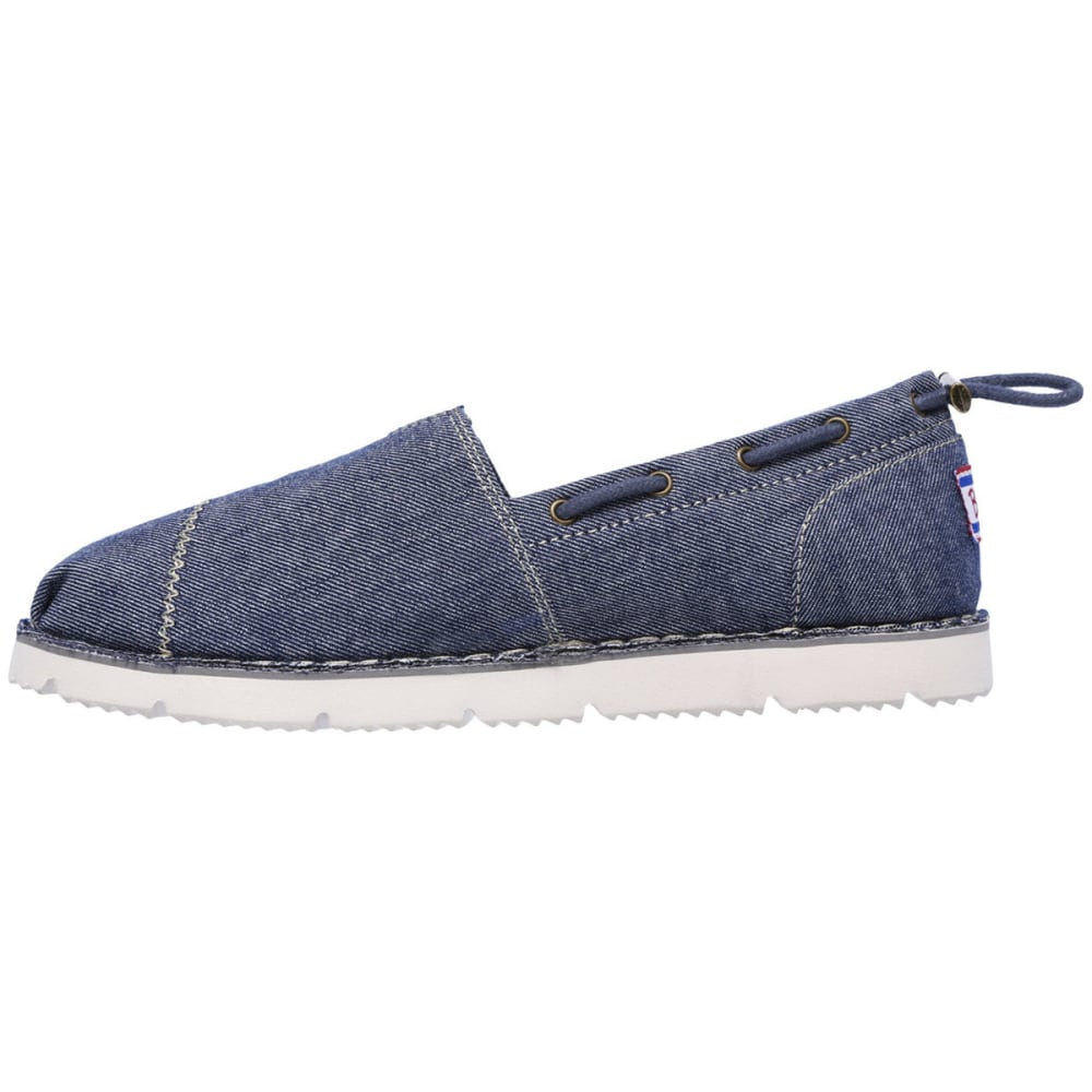 SKECHERS Women's BOBS Chill Flex - New Groove Slip-On Casual Shoes, Navy - NAVY