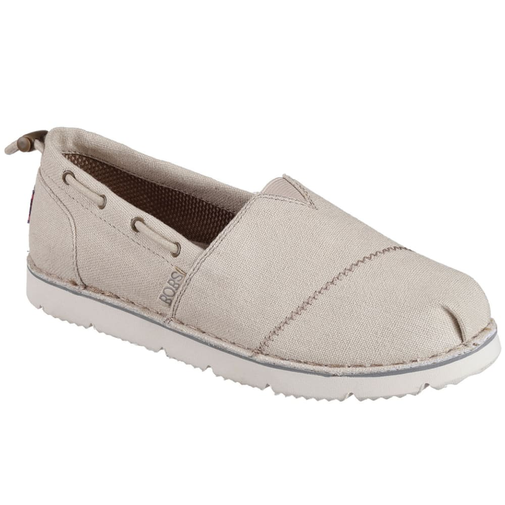 SKECHERS Women's Bobs Chill Flex - Hot 2 Trot Flats - NATURAL